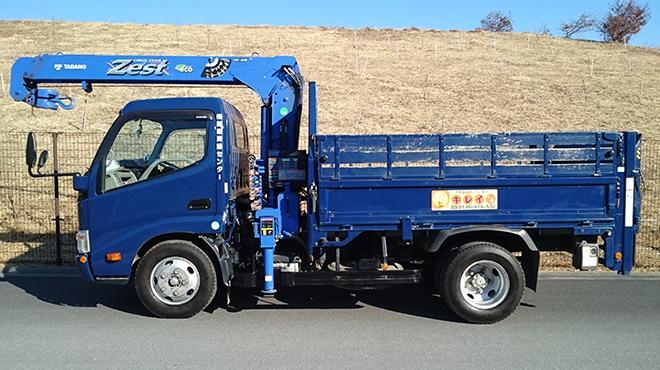 2tトラック(横)