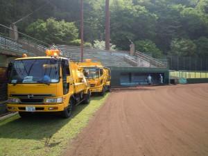 市民球場排水管清掃1 (2)